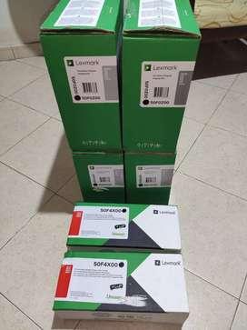 Toner Lexmark 50f4x00 y Unidad Optica 50f0z00