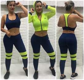 Conjunto 3 Piezas Gym Dama