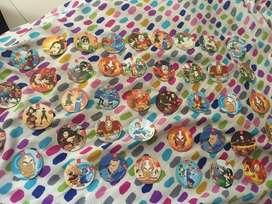 Coleccion 45 tazos avatar leyenda de ang