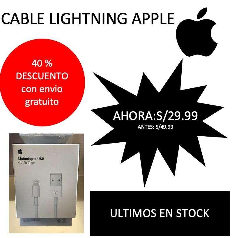 OFERTA!!!Cable lightning APPLE 0