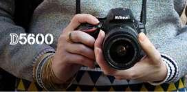 Cámara Réflex Digital : Nikon D5600