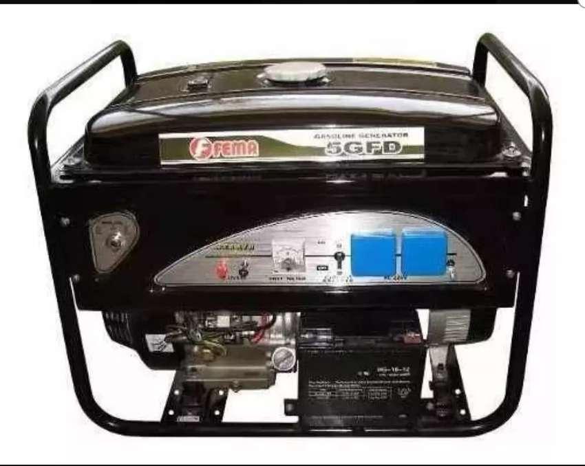 No te quedes sin luz este verano! Generador Fema 5GFD 6600w 13hp Rec tarj permuto 0