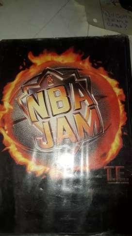 Cartucho de sega NBA JAM TE. usado