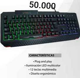 Vendo mouse, teclado, diademas gamers, ventilador portátil