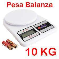 BALANZA ELECTRONICA DIGITAL 1GR A 10KG SF 400 DELIVERY LINCE