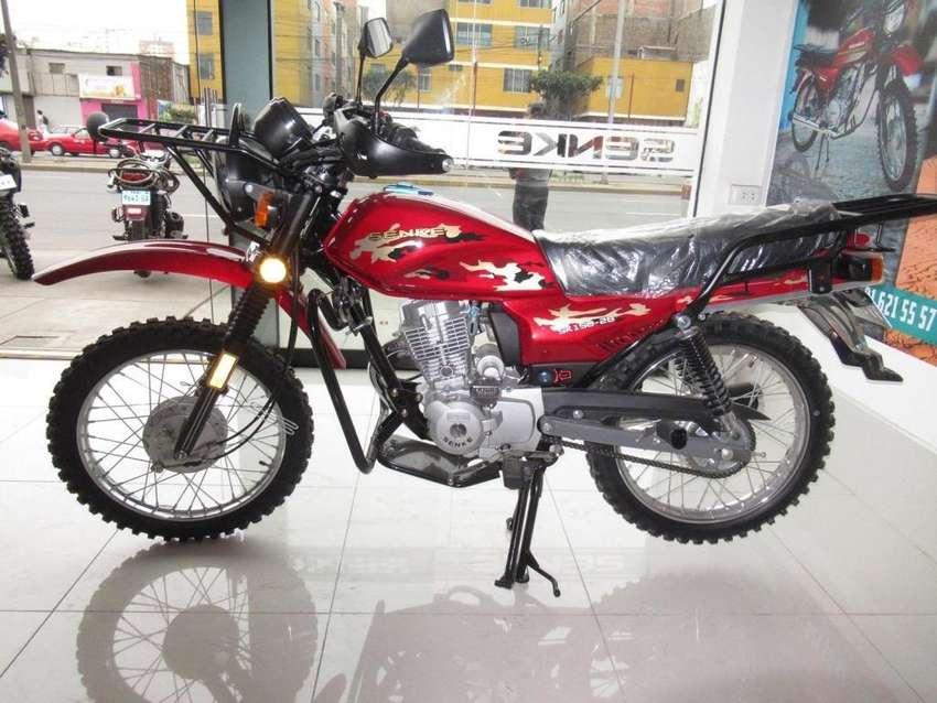 MOTO SENKE SK150-2B desde 0