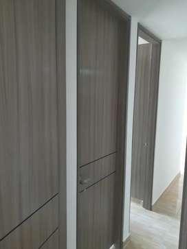 Arriendo bonito apto para estrenar, pisos cerámica, cocina integral, habitaciones todas con closert