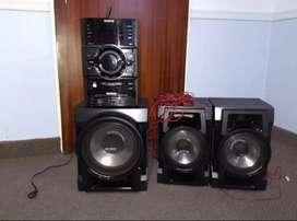 Equipo de Audio Sony Genezi