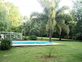 ca25 - Cabaña para 2 a 4 personas con pileta y cochera en Escobar