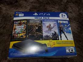 Se vende Ps4 slim de 1TB