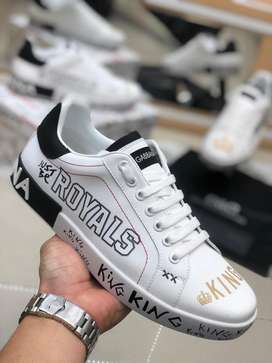 Tenis unisex dolce y gabbana just be royals