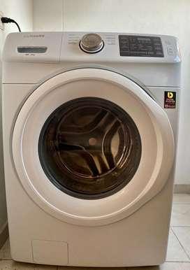 Vendo lavadora samsumg 18 kg carga frontal