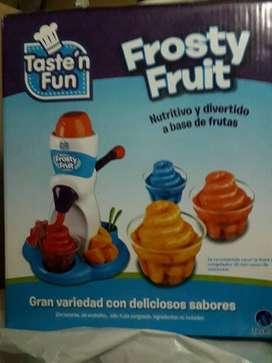 Maquina Frosty Fruit Frutas Congeladas Tasten Fun Importadas