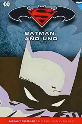 Batman y Superman - AÑO UNO - Colección Novelas Gráficas