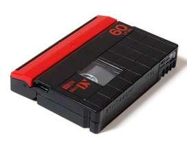 Caset Mini DV a memoria, cd      informacion Whtasapp