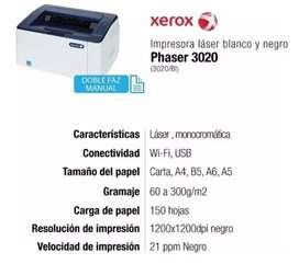 Impresora láser phaser 3020