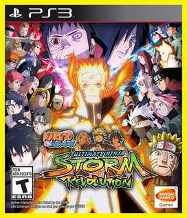 Naruto Shippuden: Ultimate Ninja Storm Revolution Playstation 3