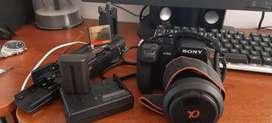 Vendo Cámara Sony A300 Alpha + Lente 18-70mm