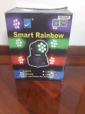 Cabeza Móvil LED tipo Wash 7 x 10W big dipper SPB305
