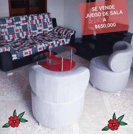 SE VENDE JUEGO DE SALA A TAN SOLO 650,000