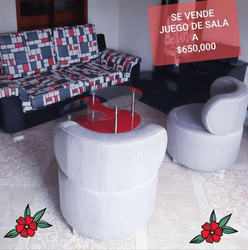 SE VENDE JUEGO DE SALA A TAN SOLO 650,000 0