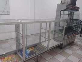 Venta de VITRINA de Aluminio