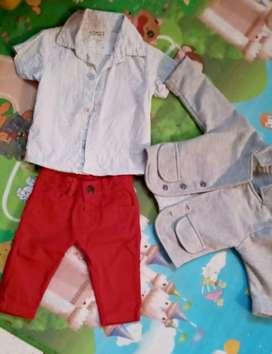 Vendo ropa dede 0 a 12 meses tiene solo una puesta