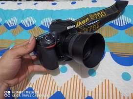 Nikon D750 vendo o cambio