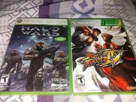 Vendo juegos para Xbox 360