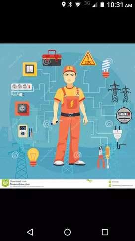 Servicio de mantenimiento y reparación eléctrica y de plomería residencial
