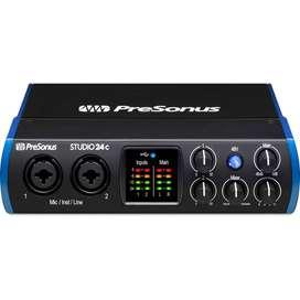 Interfaz Presonus STUDIO24C Audio 2Canales
