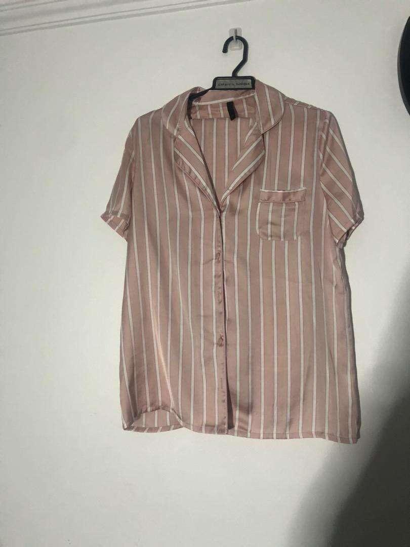 Pijama de seda nueva falabella