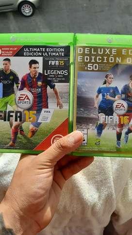 FIFA 15 y 16 originales