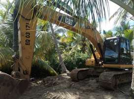 Se vende excavadora 320