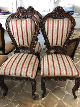 2 Sillas estilo Luis XV