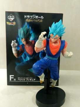 Figuras de Gogeta blue y Vegetto blue Dragon Ball Super