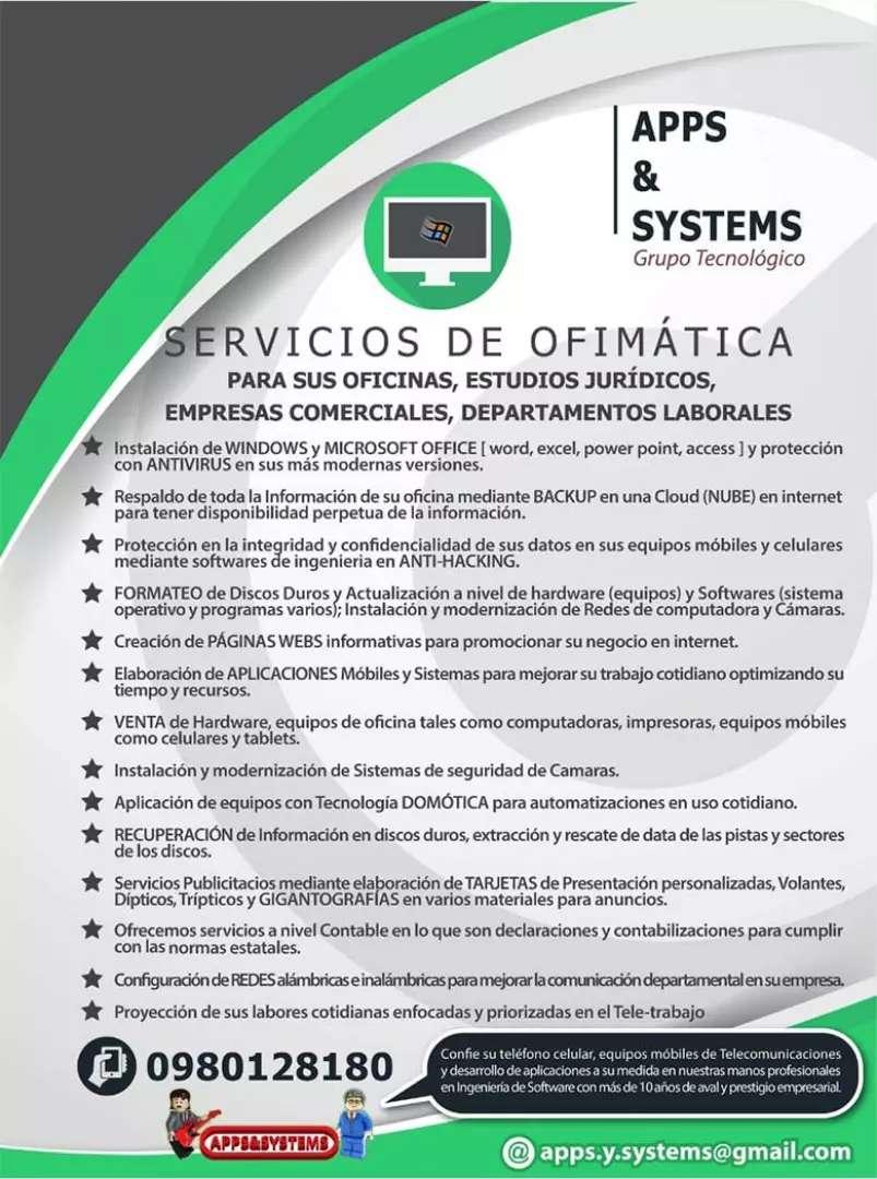 Servicio tecnico en repotenciación de equipos computacionales para empresas y personas 0