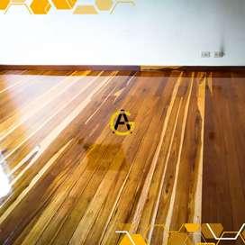Pulido de pisos de madera al mejor precio.