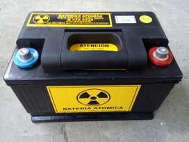 Bateria 12 volt 75 ampers reforzadas