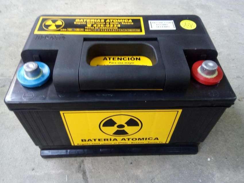 Bateria 12 volt 75 ampers reforzadas 0