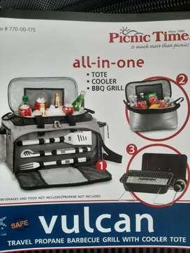 Maletin de picnic Asador-hilelera