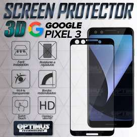 Vidrio Screen Cristal protector para Smartphone Google Pixel 3