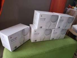 Google Home Mini + Bombillo Inteligente, Light Smart Kit Now