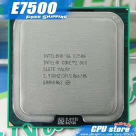 Procesador Intel Core 2 Duo E7500