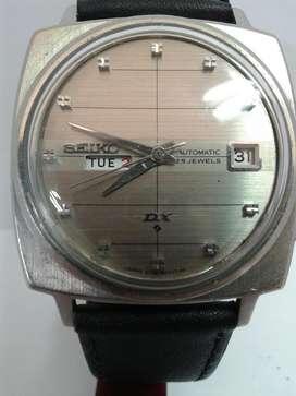 Reloj Seiko Dx Doble Calendario Automati