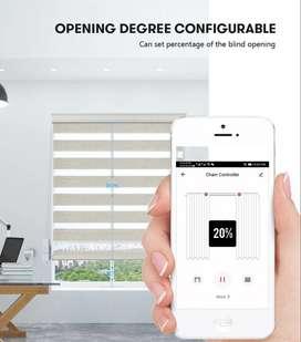 Motor para Persiana Wifi  inteligente, Compatible con Google home, Amazon, Incluye control
