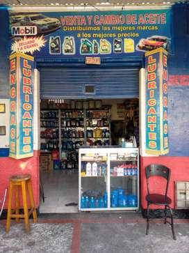 Se vende negocio de lubricantes