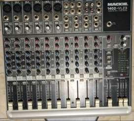 Vendo consola Mackie VLZ3 1402