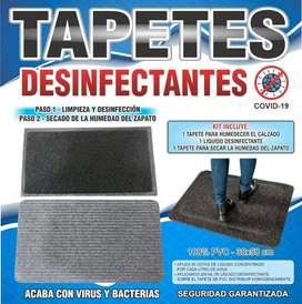 Kit tapete desinfeccion