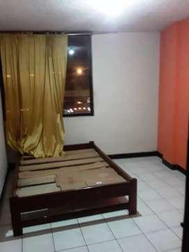 Se arriendan cuartos con baño interno en edificio Mirador